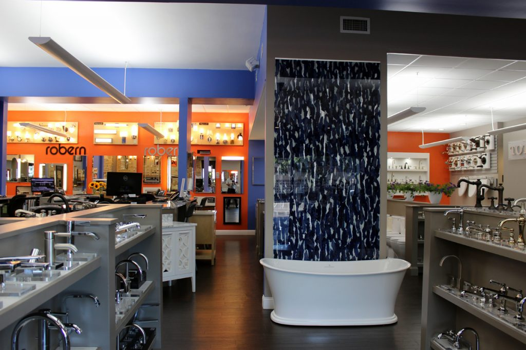 Monique's Bath Showroom interior design and home remodeling
